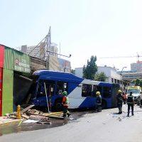 ¡Terrible! Mujer perdió la vida al ser decapitada por violento accidente de transito en Santiago