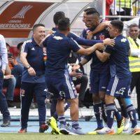 """[VIDEO] ¡Como final de campeonato! Así celebraron en la banca de la """"U"""" el gol de Rafael Vaz"""