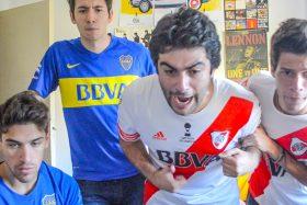 [VIDEO] ¡Vueltos locos! Así reaccionaron Los Displicentes con el paso de River a la final de Copa Libertadores