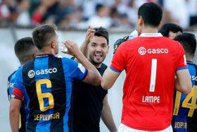 [FOTO] ¡Esperable! El mensaje de Nicolás Larcamón, DT de Huachipato, a Carlos Lampe tras su partida a Boca