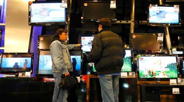 Estudio revela qué televisores prefieren los chilenos