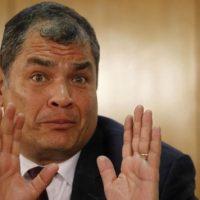 Autoridades ecuatorianasesperan por respuesta de Interpol por alerta solicitado a expresidente Correa