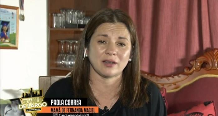 ¡Duro enfrentamiento! Mamá de Fernanda Maciel disparó contra Raquel Argandoña y exigió respeto