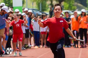 Más de 500 niños y jóvenes con discapacidad participaron en el Interescolar Inclusivo 2018