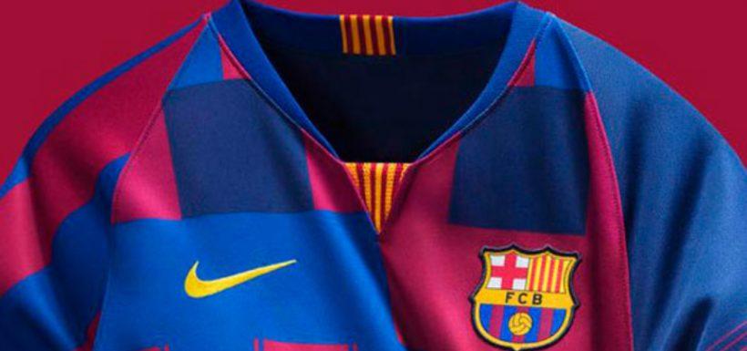 [FOTO] La extraña camiseta que lanzó el FC Barcelona y que podría utilizar Arturo Vidal