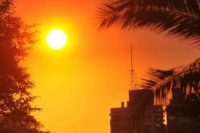 ¡Ojo en la calle! El peligroso fenómeno meteorológico que se viene para Santiago en los próximos días