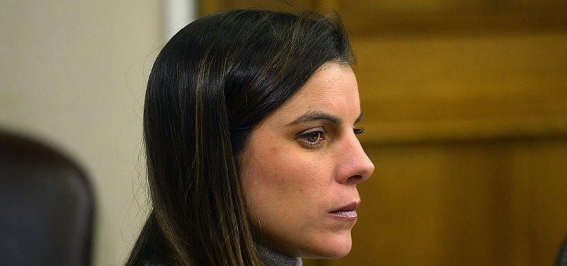 Tuvo que ser asistida: Maite Orsini sufrió descompensación en plena sesión del Congreso