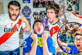 [VIDEO] ¡Con el corazón en la mano! Así vivieron 'Los Displicentes' la primera final de Copa Libertadores