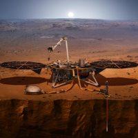 La NASA logró con éxito el aterrizaje de la Sonda InSigth en Marte