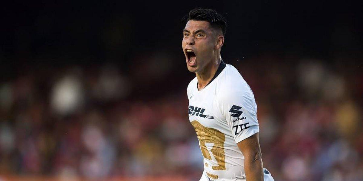 [VIDEO] ¿Aló Rueda? El golazo de Felipe Mora en México en la derrota de Pumas
