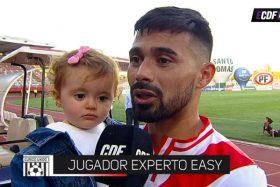 """[VIDEO] ¡Un genio! La divertida entrevista del goleador de Curicó: """"Si era obrero ni en pedo me toca esta hija"""""""