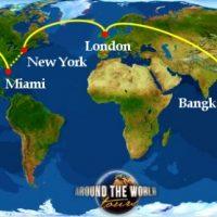 Round the world tickets: Descubre de que se trata este producto pensado por las aerolíneas para recorrer el mundo.