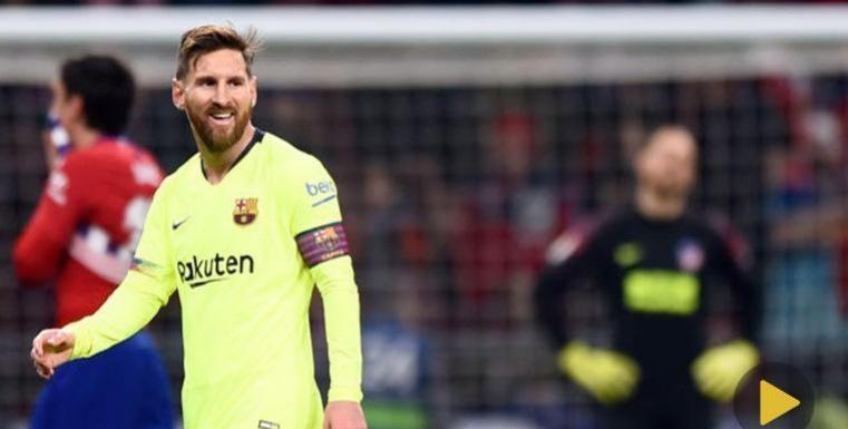 [VIDEO] Extraterrestre: La jugada con la que dicen en España que Messi 'no es humano'