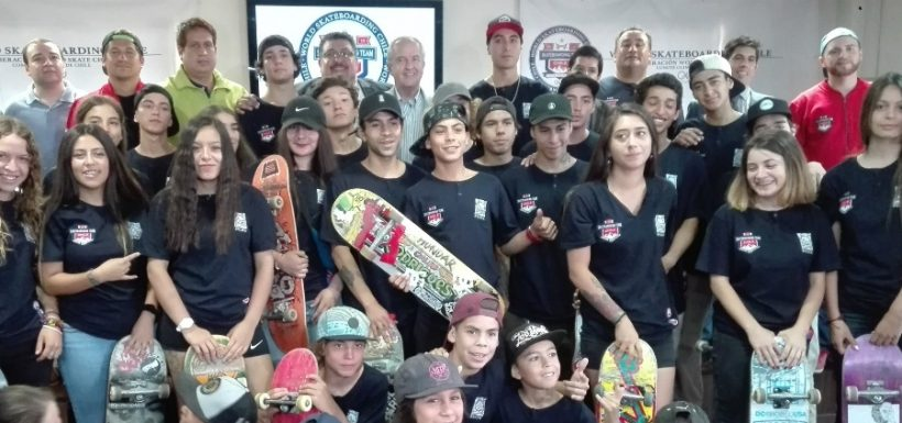 ¡Siguen sumando! Skateboarding chileno clasificó a los Panamericanos Lima 2019