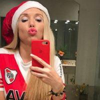 [FOTO] Melisia: La candente hincha de River que celebró 'ligera de ropa' la obtención de la Libertadores
