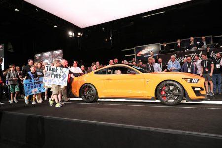 Subasta 2020 Shelby GT500