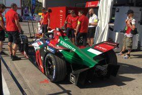 Pits Fórmula E Santiago