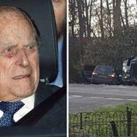 Príncipe Felipe chocó su Land Rover