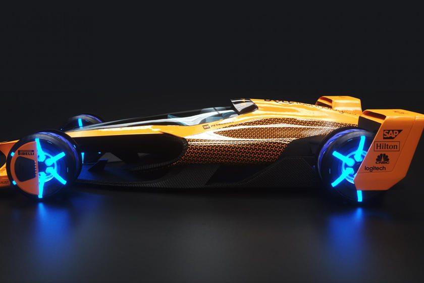 Fórmula 1 2050 McLaren