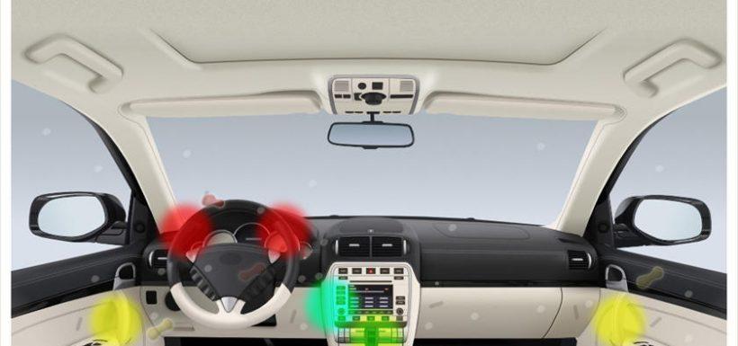 manubrio suciedad auto
