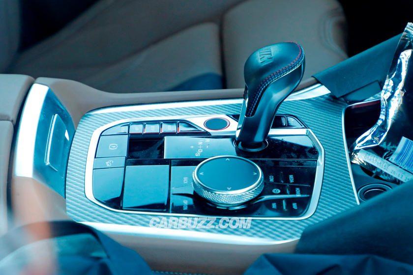 BMW X6 M palanca de cambios