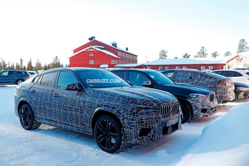 BMW X6 M delante