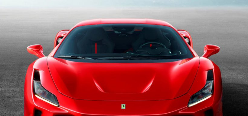 Ferrari F8 Tributo frontal