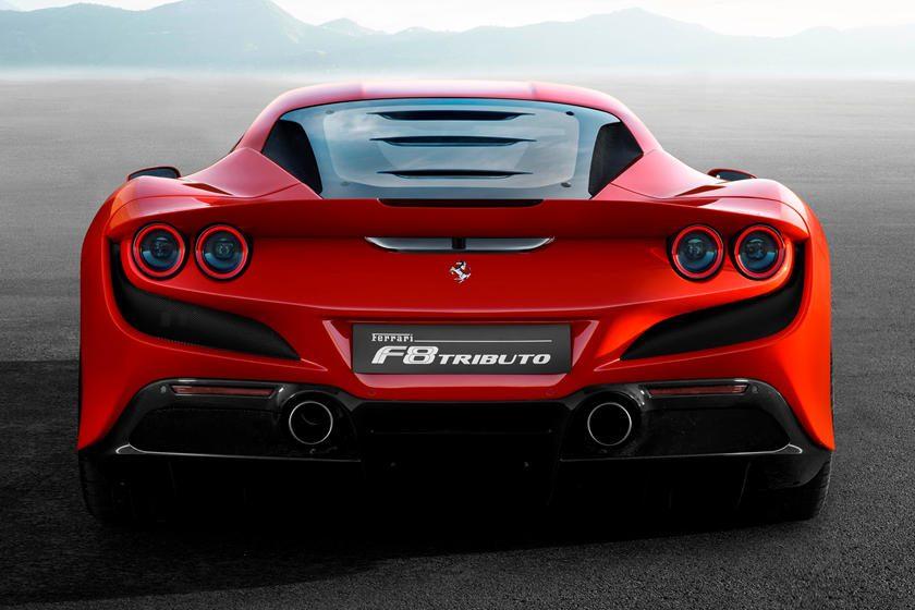 Ferrari F8 Tributo trasero