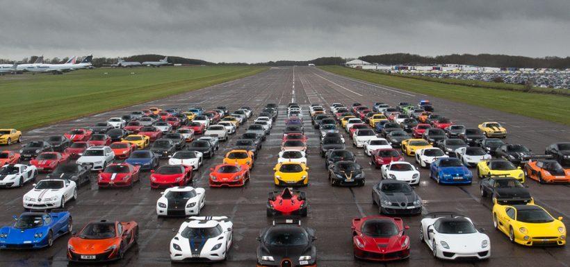 Eficiencia de los autos más rápidos del mundo