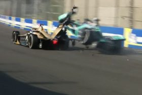 Accidente Nelson Piquet Jr. ePrix México Fórmula E