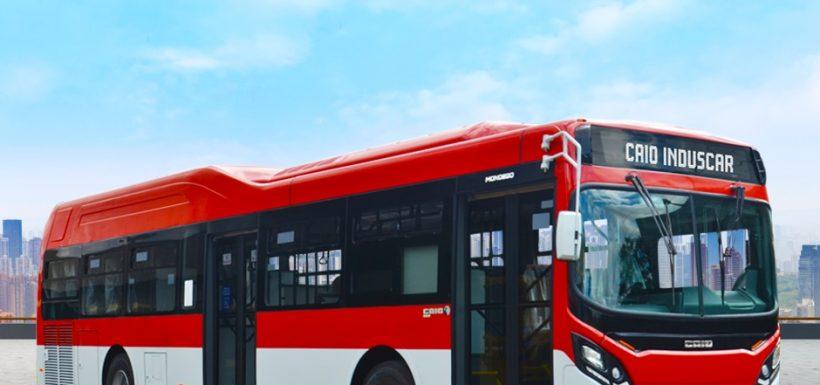 490 nuevos buses Transantiago