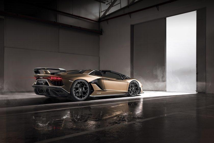 Lamborghini Aventador SVJ Roadster lado