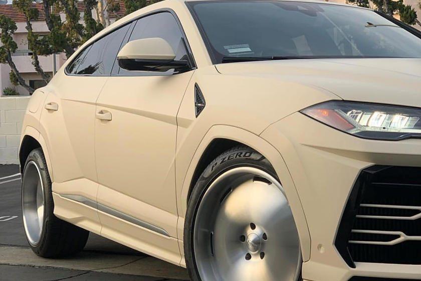 Kanye West Uru's wheels