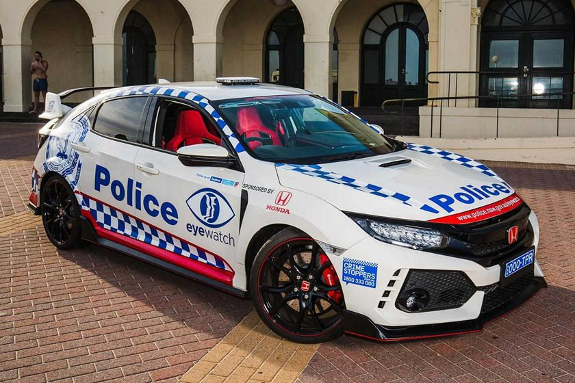 Civic Type R policial
