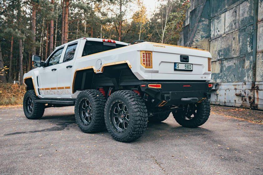 Camioneta Bureko 6x6
