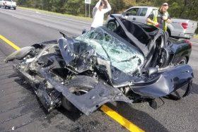 Accidente MR2 Spyder