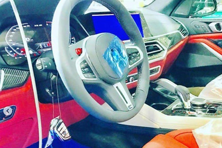Interior BMW X5 M