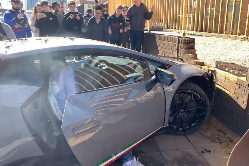 Lamborghini Huracan Performante choque