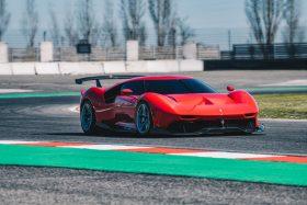 Nueva Ferrari P80/C