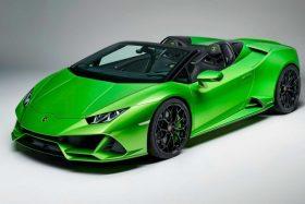 Presentación Lamborghini Huracan EVO Spyder