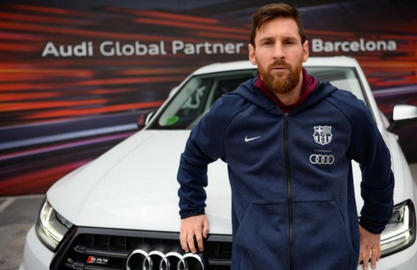 Audi regalado a Messi