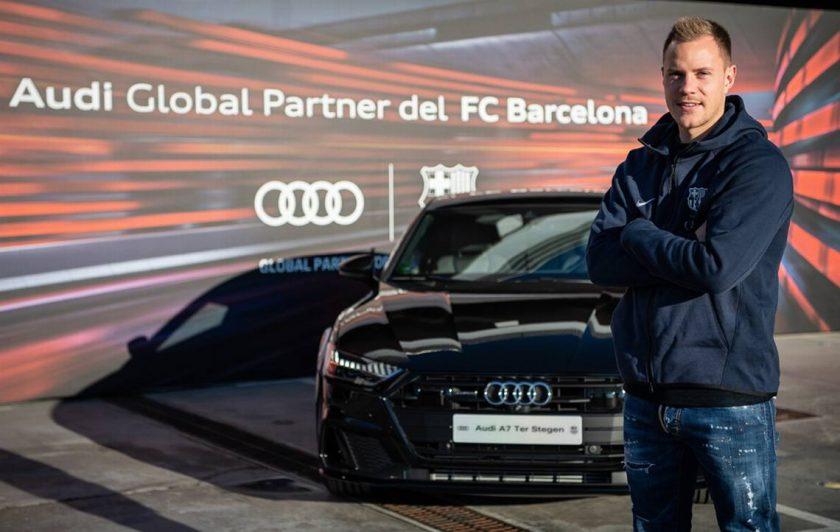 Audi regaló autos a jugadores del Barcelona