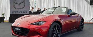 Frente nuevo Mazda MX-5 Miata