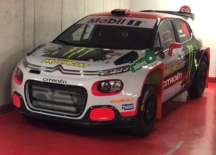 Citroën presentó su auto de rally