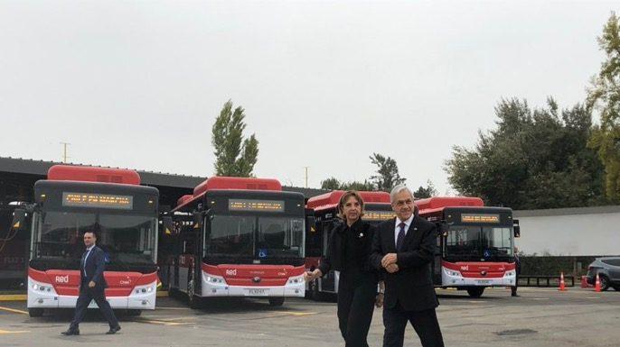 100 nuevos buses eléctricos para Red (ex Transantiago)