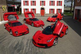 Ferrari presentará 5 modelos el 2019
