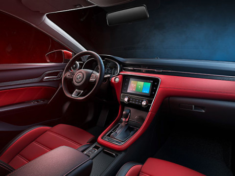 Interior MG6 Trophy