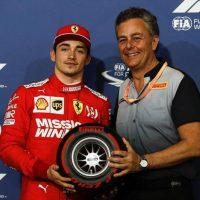 Leclerc pole position