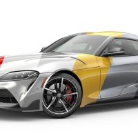 Paleta de colores Toyota Supra