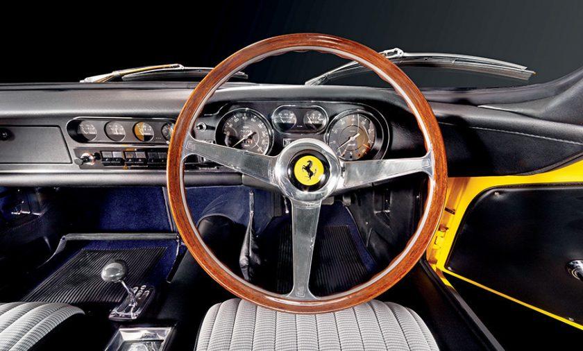 Ferrari 275 GTB/C interior